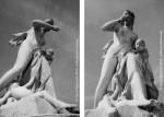 Les statues du Jardin des Tuileries, Médée, photos Hervé Bernard, 1996